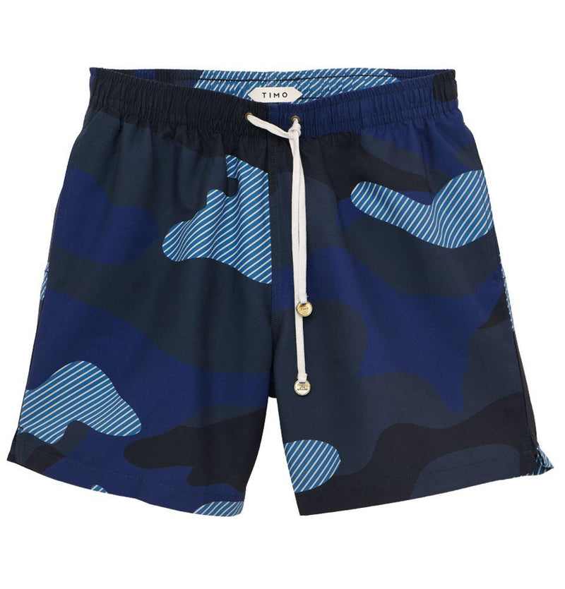 LONG PREP CAMO BLUE TIMOTRUNKS