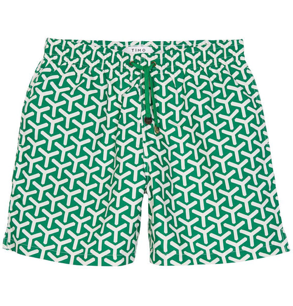 LONG PREP CHEVRON GREEN TIMOTRUNKS