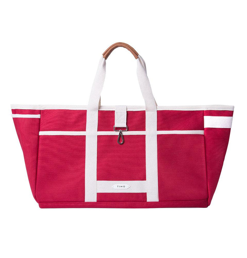 WEEKENDER TOTE RED TIMOTRUNKS
