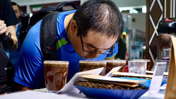 Grand Parade Imports cupping Specialty Kenya Coffee, unroasted coffee beans in Hainan, China