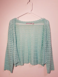 NY Collection Cardigan Sweater - L