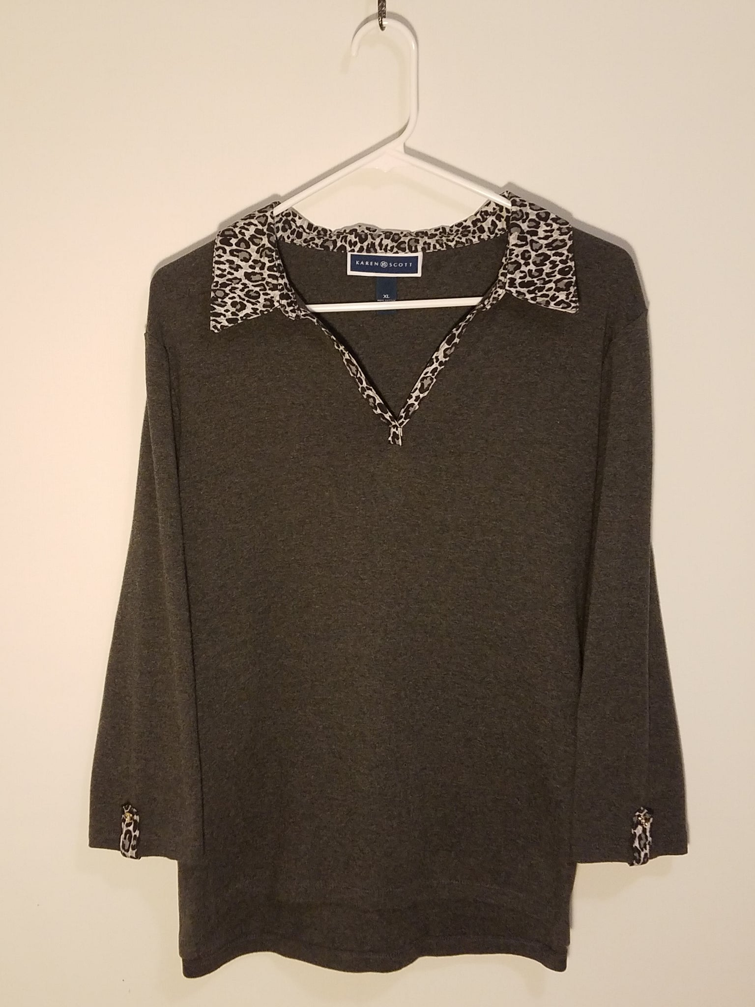 Karen Scott Top - XL