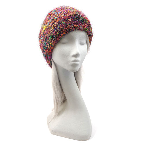 Raw Silk Mix Beanie