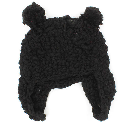 Soft Knit Bear Hat