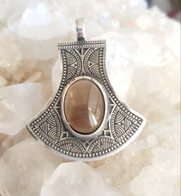 Load image into Gallery viewer, Smoky Quartz Pendant set in 925 Silver