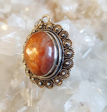 Load image into Gallery viewer, Sunstone Pendant set in 925 Silver