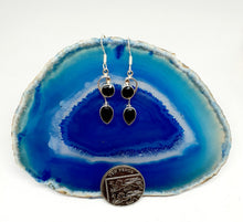 Load image into Gallery viewer, Double Drop Earrings set in 925 Silver