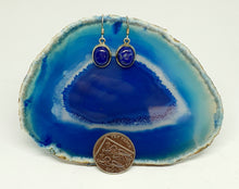 Load image into Gallery viewer, Lapis Lazuli Earrings set in 925 Silver