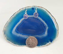 Load image into Gallery viewer, Tanzanite Earrings set in 925 Silver