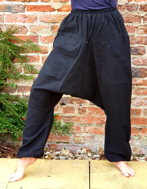 Black Baba Pants