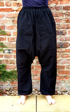 Load image into Gallery viewer, Black Baba Pants