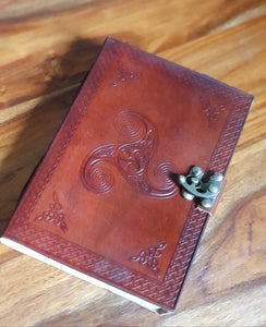 Leather Triskele Journal