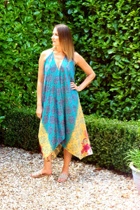 Scarf Dresses from Karma. www.karmaripon.co.uk