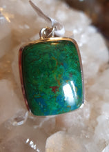 Load image into Gallery viewer, Chrysocolla Pendant set in Silver