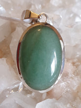 Load image into Gallery viewer, Aventurine Pendant set in Silver