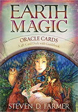 Load image into Gallery viewer, Earth Magic Oracle Cards by Steven Farmer