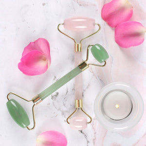 Jade Dual Ended Facial Rollers
