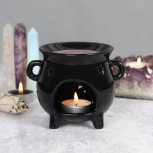 Load image into Gallery viewer, Witches Cauldron Oil/Wax melt Burner