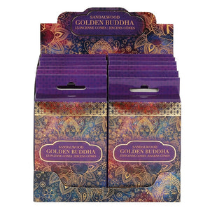 Golden Buddha Incense Cones