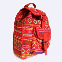 Load image into Gallery viewer, Nepalese mini Backpack. www.karmaripon.co.uk
