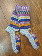 Load image into Gallery viewer, Nepalese Knitted Slipper Socks