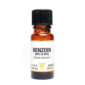 Benzoin Pure Essential Oil (in DPD) 10ml
