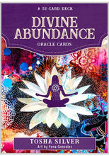 Load image into Gallery viewer, Divine Abundance Oracle Cards by Tosha Silver