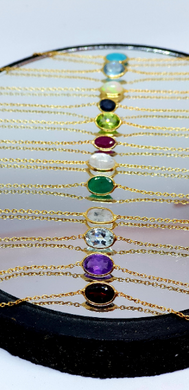 Birthstone Bracelets exclusive to www.karmaripon.co.uk