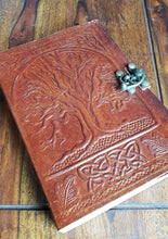 Load image into Gallery viewer, Leather Tree of Life Journal