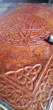 Load image into Gallery viewer, Leather Pentacle Journal