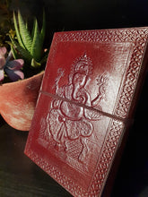 Load image into Gallery viewer, Leather Ganesh Journal