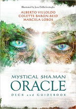 Load image into Gallery viewer, Mystical Shaman Oracle & Guide Book by Alberto Villoldo, Colette Baron-Reid, Marcela Lobos