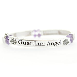 Guardian Angel Sentiments Bracelet