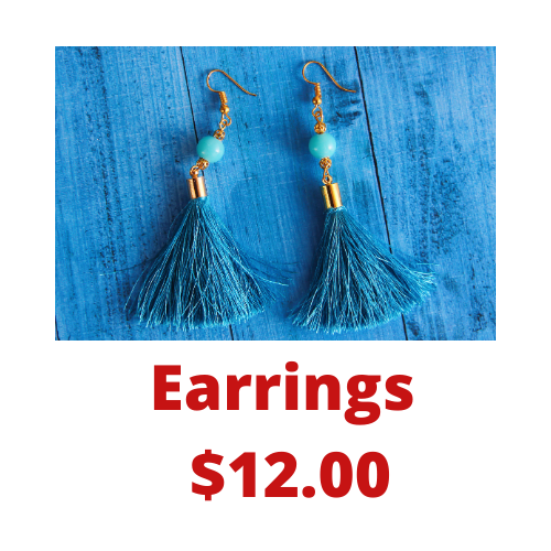 Earrings $12.00