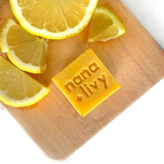 Lemon Soap Block