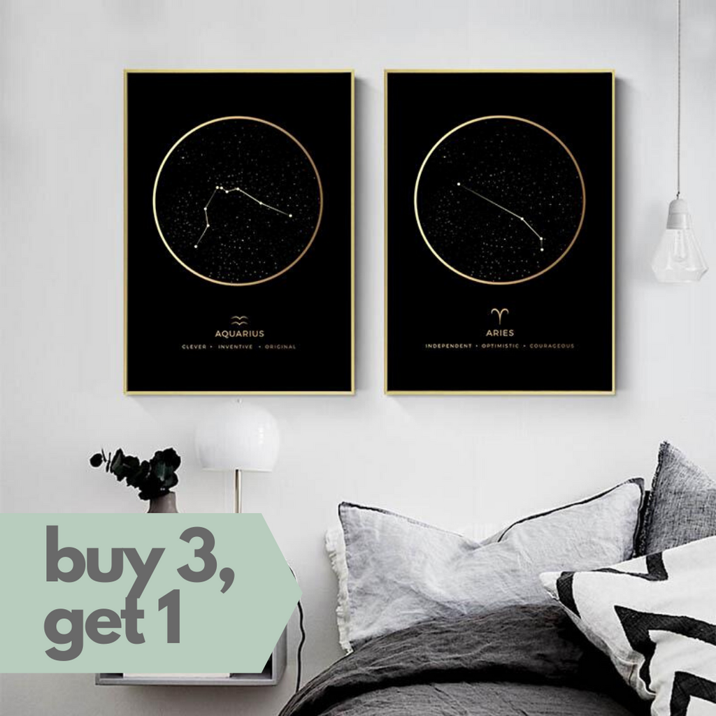 What's Your Sign Canvas Print