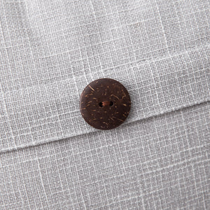 Vintage Button Cushion Cover