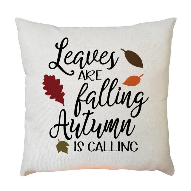 Autumn Is Calling Cushion Cover