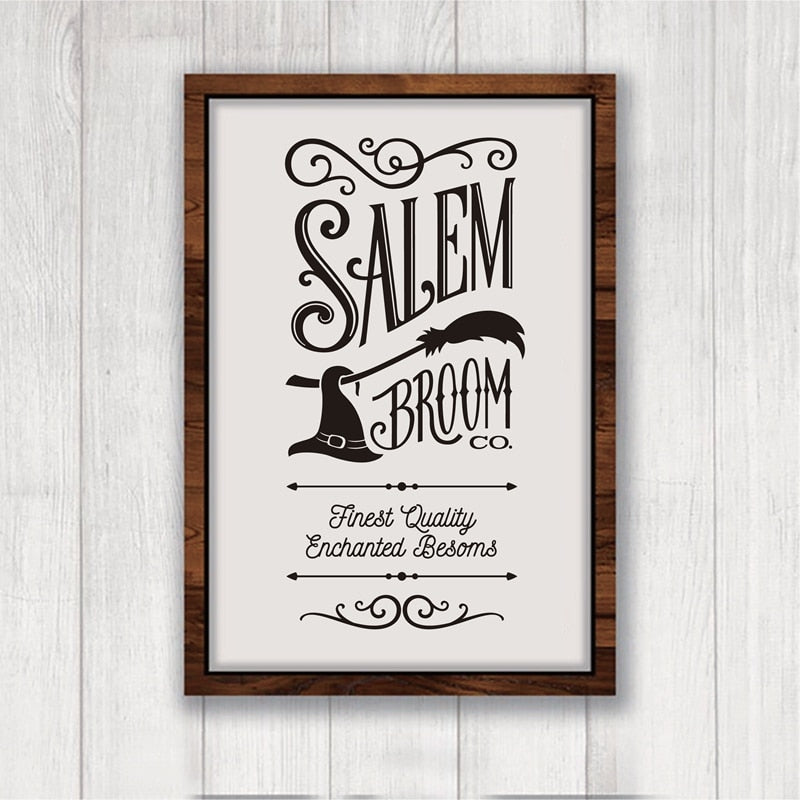 Salem Broom Co. Canvas Print