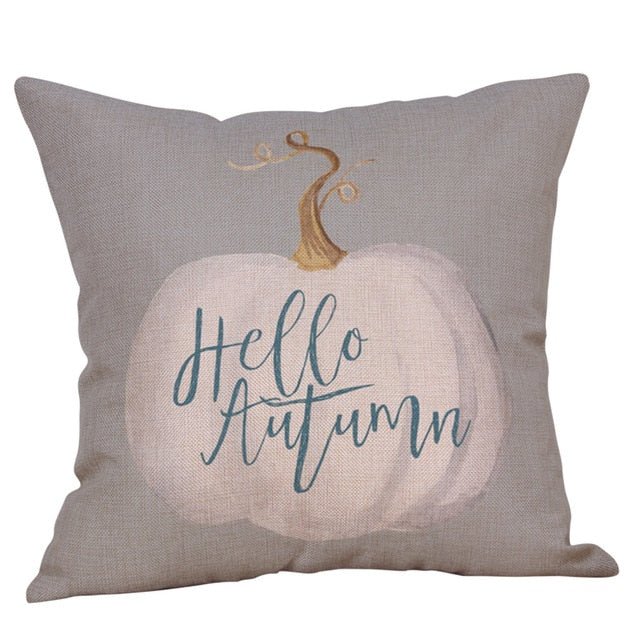 Hello Autumn Cushion Cover