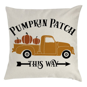 Pumpkin Patch Cushion Cover
