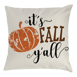 It's Fall Y'all Cushion Cover