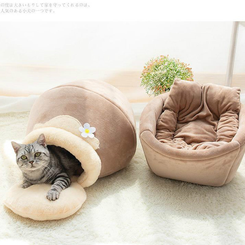 Sweet as Honey Cat Bed