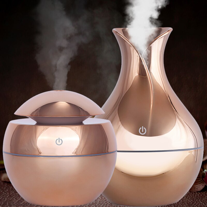Rose Gold Ultrasonic Diffuser