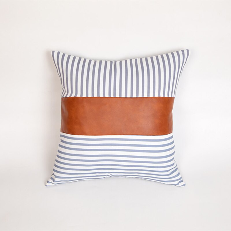 Solids + Stripes Cushion Cover