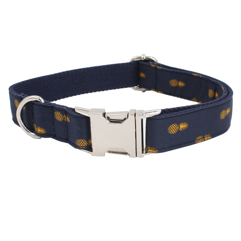 Pineapple Collar + Leash Set