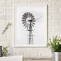 Small Town Breeze Canvas Print