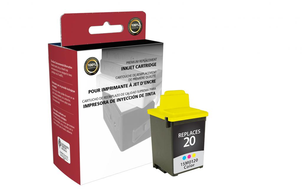 Color Ink Cartridge for Lexmark #20