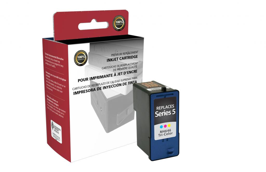 High Yield Color Ink Cartridge for Dell Series 5
