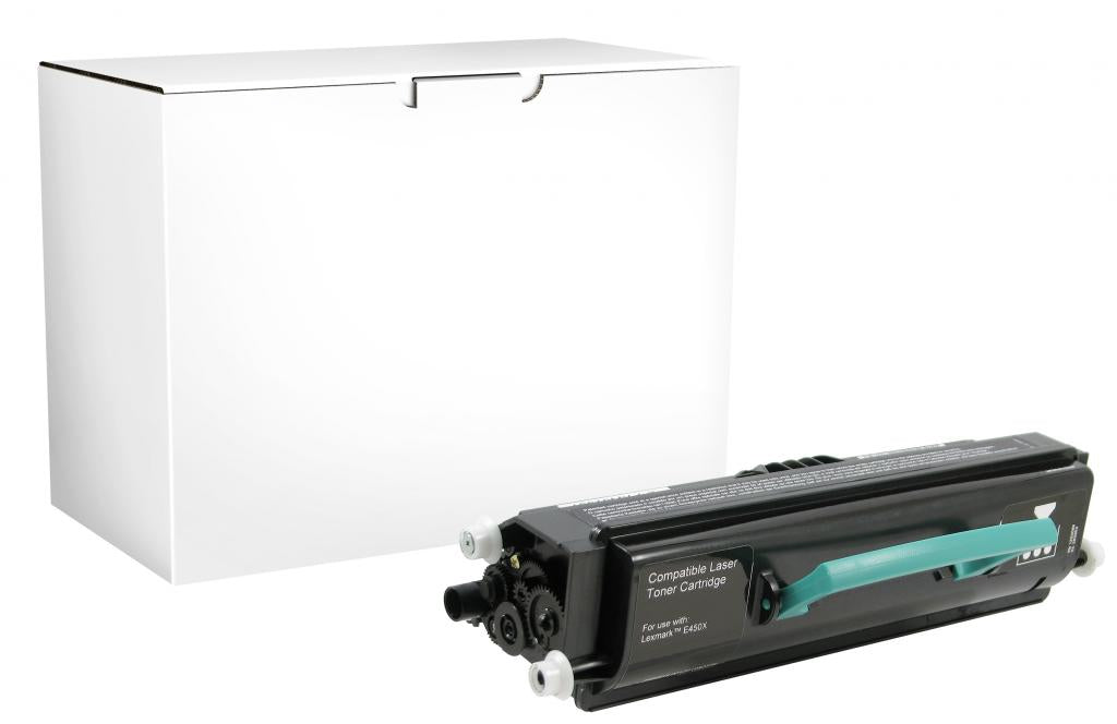 Toner Cartridge for Lexmark Compliant E450